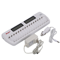Most Useful Gift 16 Slot NI-MH NI-CD AA AAA LCD Battery Charger with Factory Price