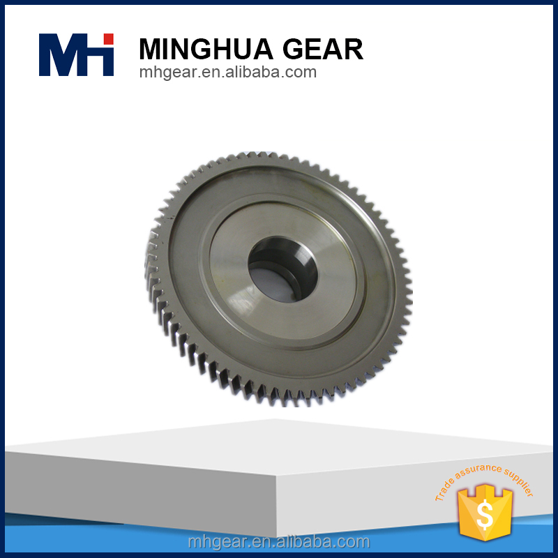customer design forging and grinding transmission gear wheel