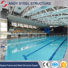 Steel structure swimming pool construction building materials