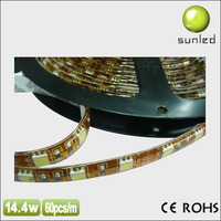 good quality 5050 5630 7020 smd led light smd DC12/24V led strip for motorcycle with ce rohs