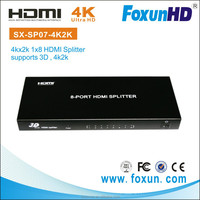 8 channel HDMI distribution Amplifier Support 3D