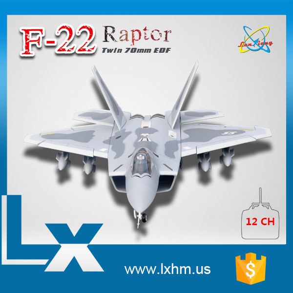 F22 raptor beautiful rc float air planes