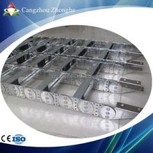 TLG galvanized steel wire carrier electric cnc cable drag protection chain