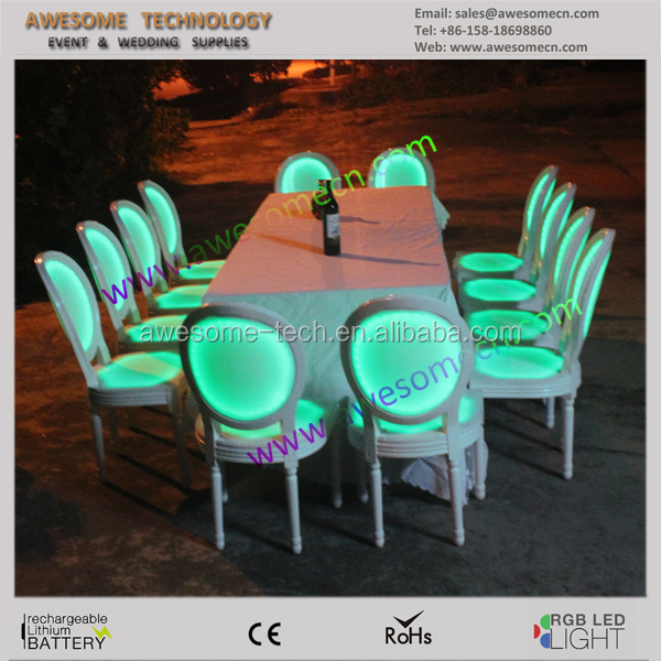 16 colors outdoor wedding chairs and tables / wedding chair