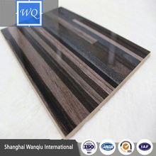 1220*2240 cheap high gloss uv pantd mdf board /pvc cabinet edge banding