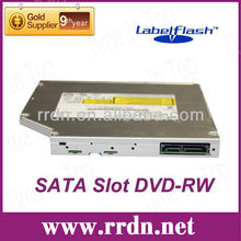 HL GA10F SATA Slot load drive, 12.7mm LabelFlash DVD-RW Burner