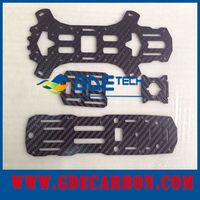 China OEM/ODM cheapest QAV250 250mm Carbon Fiber Mini 250 FPV Quadcopter Frame Mini H Quad Frame