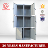 Commercial furniture Filing Cabinets small steel storage cabinet 6 door gym locker