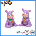 baby mini toy initiation cutr purple rabbit cartoon plastic clockwork toys