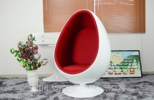fashion modern classic furniture egg chair with speaker for wholesale