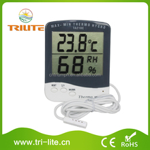 Hygrometer for Grow Tent Room THERMOMETER Hydroponics