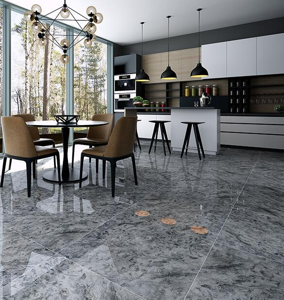 ceramic high temperature resistance polished marble tile