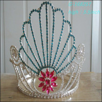 Wholesale hot sell Fashion pageant crown miss world tiara