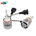 car manufacturer 12v 24v 30w 8000lm c6 h9 bulb led headlight