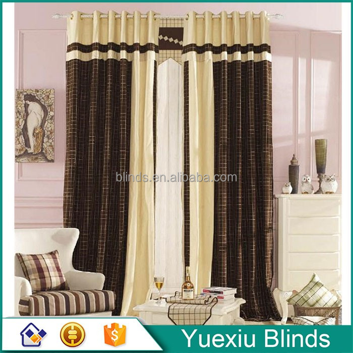 Curtain Made In Guangzhou for hotel,home,cafe new design Curtain