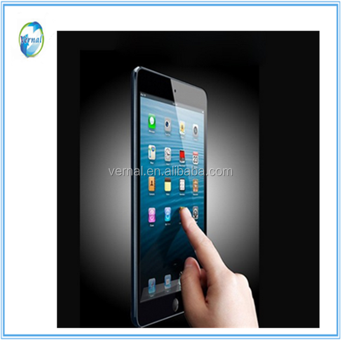100% high clear top quality 50%off tempered glass screen protector for iPad Mini2/Mini3/mini 4/pro 12.9/pro 9.7