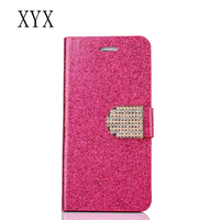 Free sample fancy plating powder for huawei y635 flip case cover