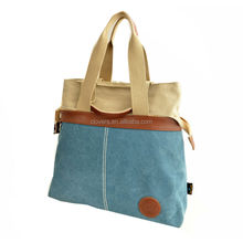 outside pocket quilted tote bag