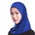 plain one peice mini muslim hijabs arabic hijab HS103