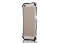 2014 hot selling electroplating veneer case for iphone6 bumper