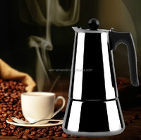 High Quality Wholesale Stainless Steel Moka Pot