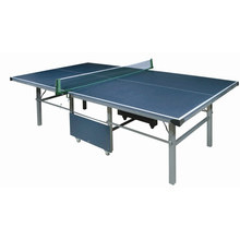 Standard size indoor folding MDF table tennis table for training