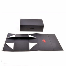 Beautifully folded gift packaging box high-end folding clamshell gift box