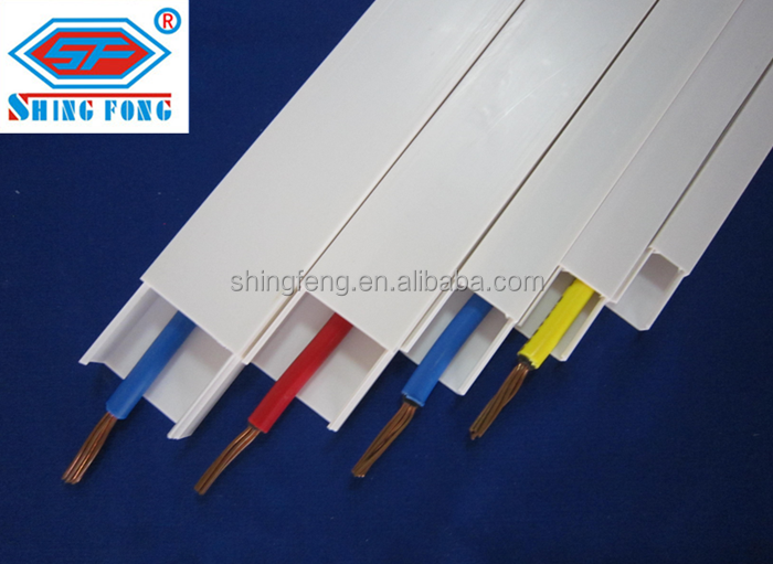 40x25mm Philippines PVC Trunking Cable Ducts