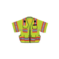fashion clothes 2015 led police traffic mesh warning safety vest