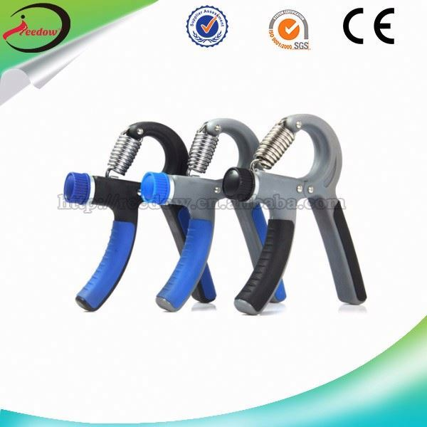 New coming neoprene gymnastics weight lifting exerciser cheap spring hand grip wholesale counting spring-grip dumbell