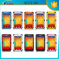 Waterproof Shockproof Hippocampus Buckle Aluminum Glass Metal Case for Samsung Galaxy S4 Mini