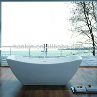 normal freestanding stone bathtub sizes