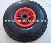 solid rubber garden cart wheel 3.00-4 pneumatic wheel