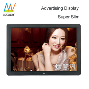 15 Inch Indoor Lcd Ads Player Digital Signage Electronic Advertising Equipment