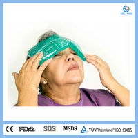 PE&nylon Hot And Cold Compress Gel Pack For Head Therapy