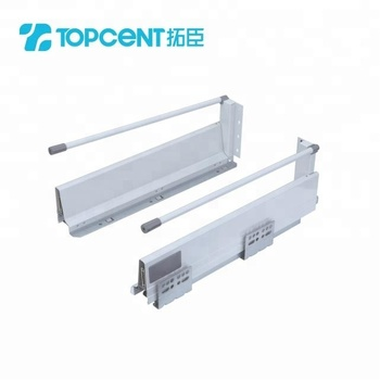Furniture hardware accessory kitchen cabinet tandem tool box slide