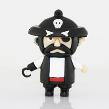 2017 The cool pirate captain jack USB Flash Drive 8gb new design usb stick mini Pen drive