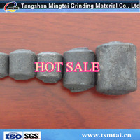 High chromium grinding steel ball steel forge casting ball used in cement mill