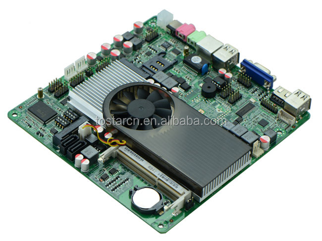 X86 Atom D2700 Mini-ITX Motherboard with NVIDIA Display Graphic Chipset
