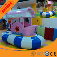 Professional Indoor Soft Playground Manufacturer Electric Ship Turntable Equipment