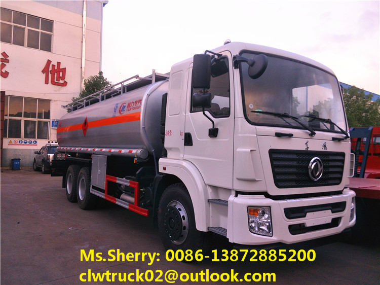 Factory direct sale Dongfeng 6*4 oil tanker truck fuel delivery truck for export