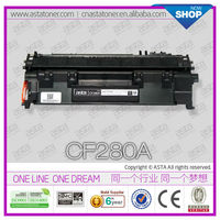 CF280A 280A Toner compatible for 80a cf280a cartridge used in for hp 400M 401DN