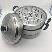 30cm Food Steamer Stainless Steel gas food Steamer