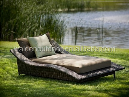 Outdoor/Resort Pool Furniture Chaise/Beach Chair/Recliner Chair /Sun Lounger (DH-563)