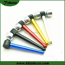 Colorful Long Smoke Metal Pipe Parts Sets handmade Accessory Smoking Pipe Aluminum