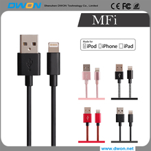 usb 2.0 extension cable charger mfi cable black white for iphone cable factory