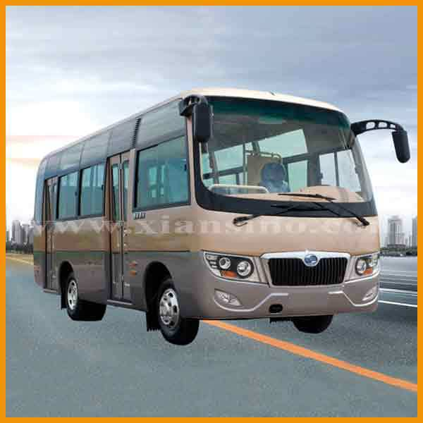 china mini 24 seat luxury city bus for sale