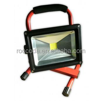 portable rechargeable led work light 12v 24v battery powered ip65. Black Bedroom Furniture Sets. Home Design Ideas