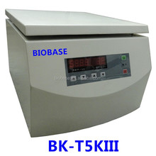BIOBASE BK-T5KIII china cheap lab medical equipment dental use Tabletop Low Speed Centrifuge price for sale