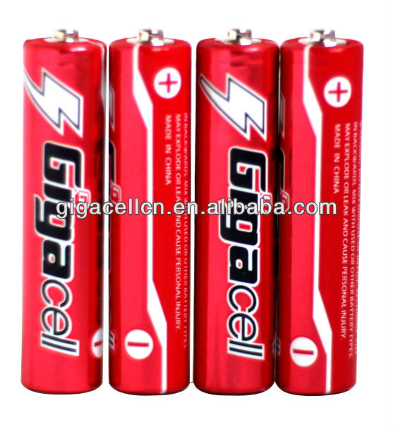 Hot sales! Size AAA Carbon Zinc R03 battery UM4 battery